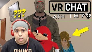 HOLD UP! LINK AND JASON BEST FRIENDS NOW!? [VRCHAT] [#02]