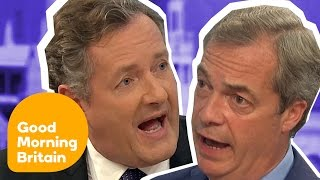 Top Ten Heated Arguments!   Good Morning Britain