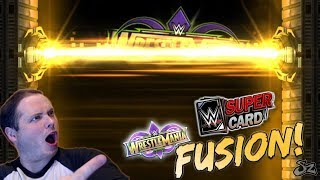 WRESTLEMANIA 34 FUSION!! DOUBLE WM34 PRO PULL! | WWE SuperCard S4