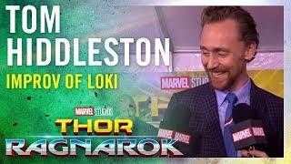 Tom Hiddleston On the Improv in Loki -- Marvel Studios