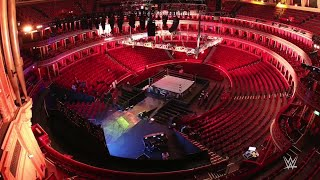 Time-lapse of the legendary Royal Albert Hall being transformed into a WWE arena: WWE Exclusive