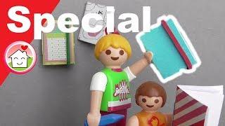 Playmobil Film deutsch Pimp my PLAYMOBIL Notizbücher / Basteln für Kinder / Family Stories