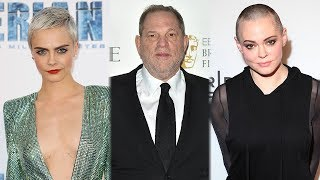 Cara Delevingne, Rose McGowan & More Celebs ADD To Harvey Weinstein Claims