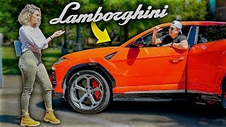 Catching Gold Diggers With Lamborghini Urus!