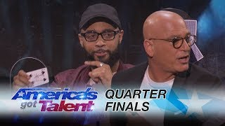 Eric Jones: Magician Shocks Judges With Unbelievable Card Trick - America