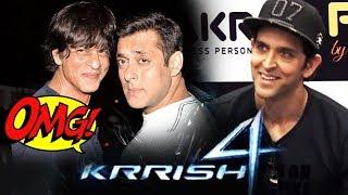 Salman और Shahrukh मिलकर करेंगे COMEDY FILM, Krrish 4 के बारे में बोले Hrithik Roshan