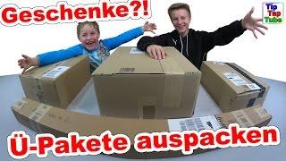 Geschenke auspacken - Ü-Pakete fast wie Geburtstag und Weihnachten  TipTapTube