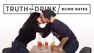Blind Dates Play Truth or Drink (Round 2) | Truth or Drink | Cut