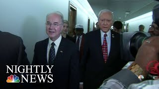 HHS Watchdog Investigating Secretary Tom Price's Travel | NBC Nightly News