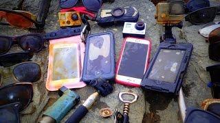 River Treasure: 4 iPhones, 2 GoPro