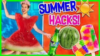 THE COOLEST SUMMER HACKS YOU NEED TO TRY!