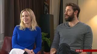 A Quiet Place - John Krasinski & Emily Blunt interview