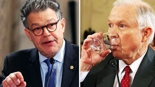 Al Franken DESTROYS Jeff Sessions Over False Claims About Work On Civil Rights Cases