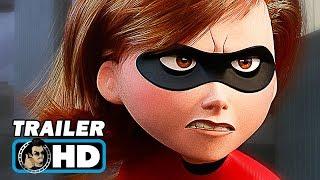 INCREDIBLES 2 Official Teaser Trailer (2018) Pixar Animated Superhero Movie HD