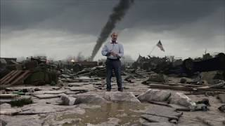 A Tornado Hits The Weather Channel