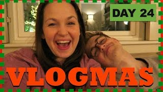 Christmas Eve! | DAY 24 | VLOGMAS 2016
