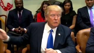 WATCH: President Trump - African American History Month At The White House (FNN)