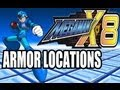 Megaman X8 Armor Locationsmp3