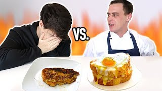 i cooked breakfast VS. a PROFESSIONAL CHEF