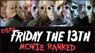 Every FRIDAY THE 13th Movie RANKED!