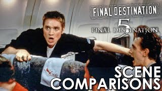 Final Destination (2000) and Final Destination 5 (2011) - scene comparisons