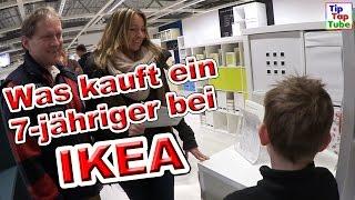 IKEA Shopping - was kauft ein 7-jähriger bei IKEA Vlog TipTapTube