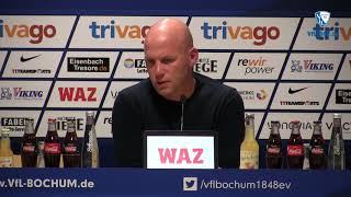 Die Pressekonferenz vor der Partie VfL Bochum 1848 - Fortuna Düsseldorf