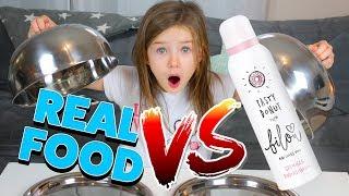 REAL FOOD vs. BILOU SCHAUM - Schmeckt Bibis Schaum wirklich? Lulu & Leon - Family and Fun