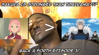 BACK & FORTH EPISODE 3: TOP 20 STRONGEST NARUTO CHARACTERS - SAKURA IS STRONGER THAN TOBIRAMA?!