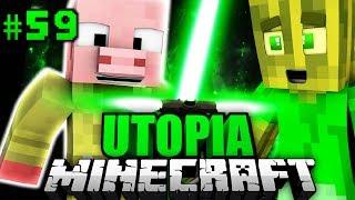 Das NEUE PLASMA LICHTSCHWERT?! - Minecraft Utopia #059 [Deutsch/HD]
