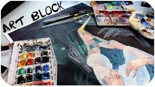 "Art-Block Talk // ""In Memoriam"" Timelapse"