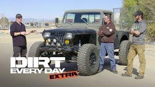 A Custom Diesel Jeep CJ10! - Dirt Every Day Extra