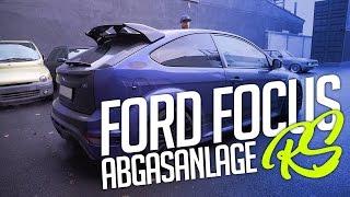 JP Performance - Ford Focus RS MK2 | Klappenabgasanlage