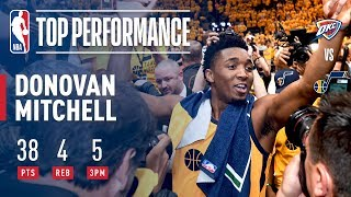 Donovan Mitchell Scores 22 Points in 3rd Quarter | Jazz Win Game 6