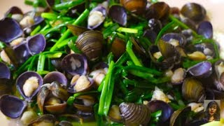 Country Food In My Village, Cooking  Khmer Clam At Home