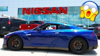 TAKING MY 1300HP GTR TO NISSAN!