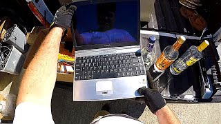 Dumpster Diving 11 (Found Laptop, Cameras, Docking Statons, Xbox 360 Parts, Booze & More!)