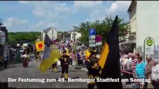 Festumzug zum 49. Bernburger Stadt- und Rosenfest