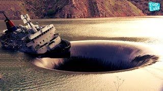 SHOCKING SINKHOLES YOU WOULDN'T BELIEVE IF THEY WEREN'T RECORDED