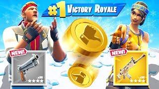 COIN FLIP Challenge *NEW* Game Mode in Fortnite Battle Royale