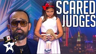 Little Girl Terrifies Judges on Spain
