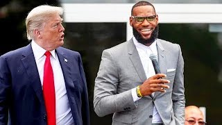 LeBron James Dissed By Donald Trump and NBA Players React!