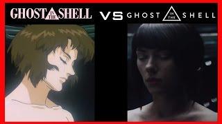 【電影片段比較】攻殼機動隊 Ghost in the Shell 1995 vs 2017   半瓶醋