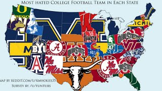 Top 10 Most Hated College Football Teams