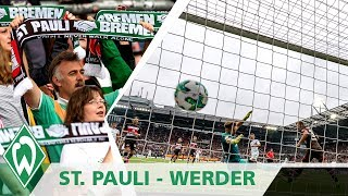 FC St. Pauli - SV Werder Bremen 2:1 | Highlights