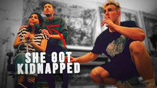 The Kidnapper Almost CAUGHT Us!! *we had to save her*
