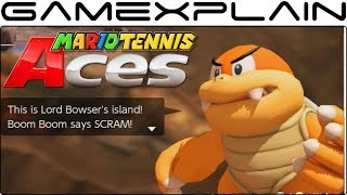 Taking on Boom Boom in Mario Tennis Aces