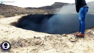 "BURNING ""Impact"" Crater Discovered In Mexico.."
