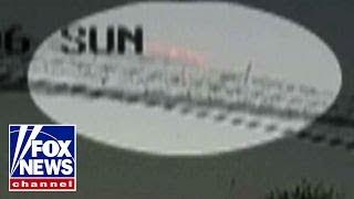 Surveillance camera captures Russian plane crash