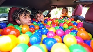 BALL PIT PRANK IN MY GIRLFRIEND
